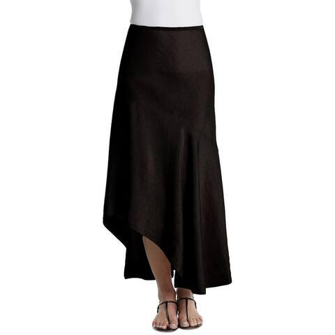 NicZoe Petite Linen-Blend Skirt