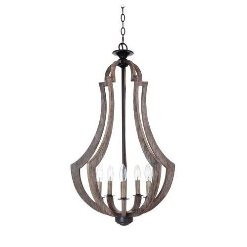 Jeremiah Lighting 35135 Winton 5 Light Foyer Indoor Pendant - 19 Inches Wide