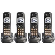 Panasonic KX-TGA939T (4 Pack) Extra Handset for KX-TG93XX Cordless Phones Series, Metallic Black