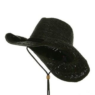Ladies Toyo Cowboy Hat - Black