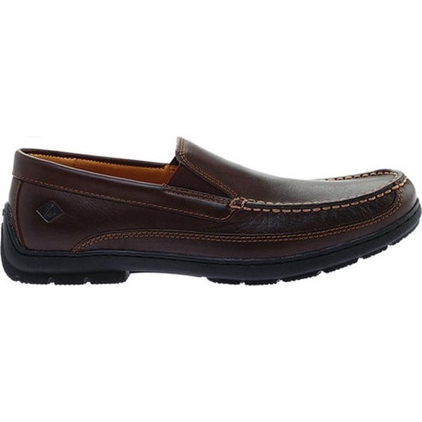 Gold Cup Twin Gore Loafer Brown Leather