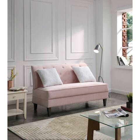 Benedict Velvet Sofa