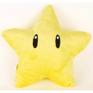 "Super Mario Brothers 10"" Invincible Star Plush"