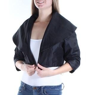 Womens Black Bolero Jacket Size 0