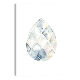 """PTM Images 9-105705  PTM Canvas Collection 10"""" x 8"""" - """"Chandelier 1"""" Giclee Jewelry Art Print on Canvas"""