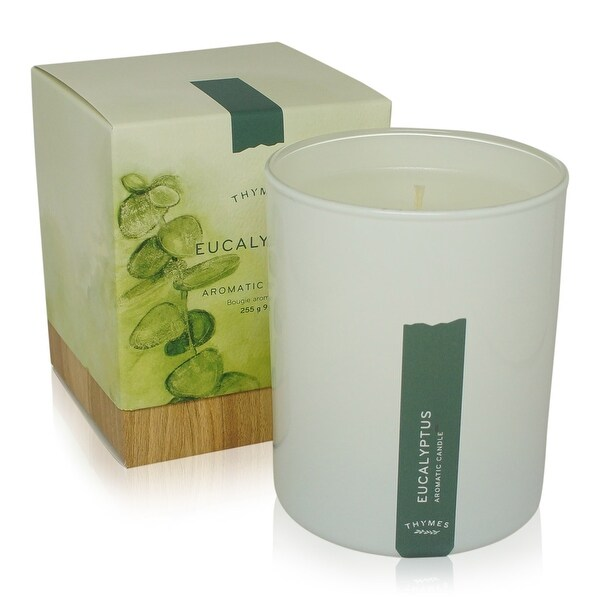 Thymes Poured Aromatic Candle Eucalyptus 9 Oz