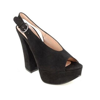 Chinese Laundry Womens First Stop Pumps Shoes - Black