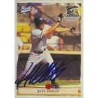 Jeff Abbott Prince William Cannons Cardinals Affiliate 1995 Best Cards Autographed Card Minor League Card This it