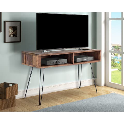 """Eastwood Reclaimed Solid Wood 48"""" Media Console - 48 inches long x 20 inches wide x 29 inches high"""