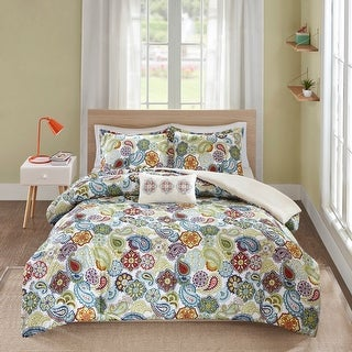 Link to Mi Zone Asha Printed Paisley Comforter Set Similar Items in Comforter Sets