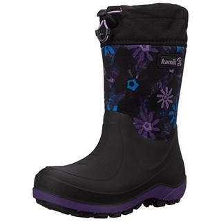Kamik Girls Stormin 2 Printed Snow Boots - 7