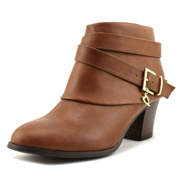Thalia Sodi Teca Women Cognac Boots