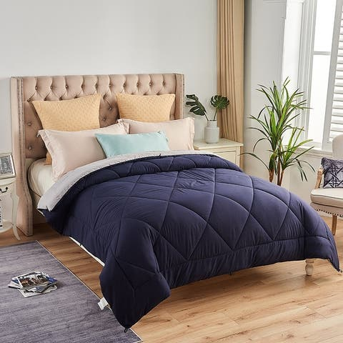 Luxury All-Season Down Alternative Reversible Comforter
