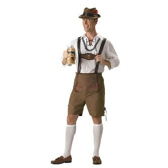 Oktoberfest Guy Hansel Adult Mens Halloween Costume - Free ...