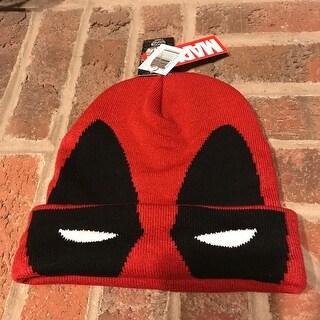 Beanie - Flip-Down Mask Deadpool