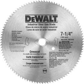"""DeWalt 7-1/4"""" 100T Steel Blade"""