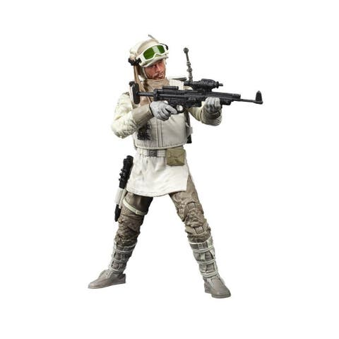Star Wars The Black Series Rebel Trooper (Hoth) Toy 6-Inch Scale Star Wars: The Empire Strikes Back Action Figure