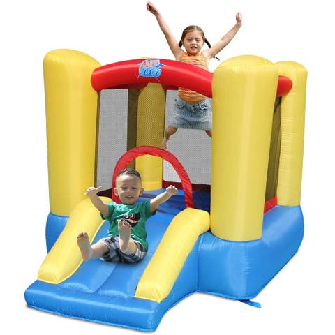 ACTION AIR Bounce House, Toddler Inflatable Bounce House with Blower