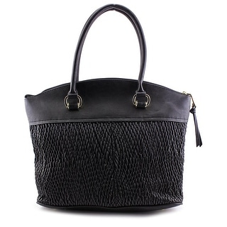 London Fog LF6308 Synthetic Satchel - Black
