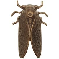 Vintaj Natural Brass, Cicada Embellishment 50x31mm, 1 Piece, Brass