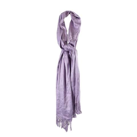 Inc International Concepts Lilac Satin Pashmina Wrap OS