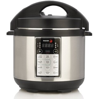 Fagor LUX Electric Multi Cooker (4 qt, Silver)