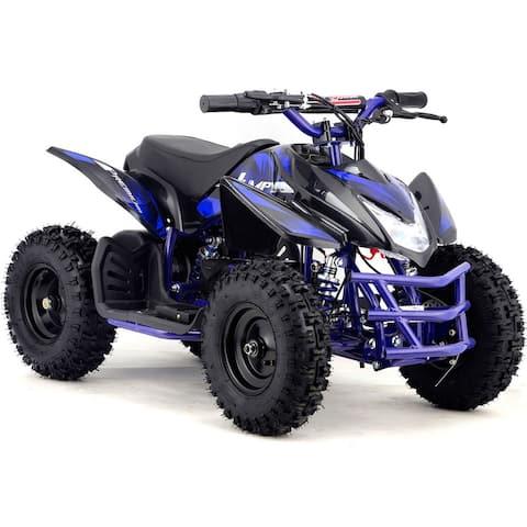 MotoTec 24v Mini Quad Titan v5 Blue