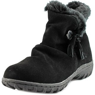 Khombu Isabella Round Toe Suede Winter Boot