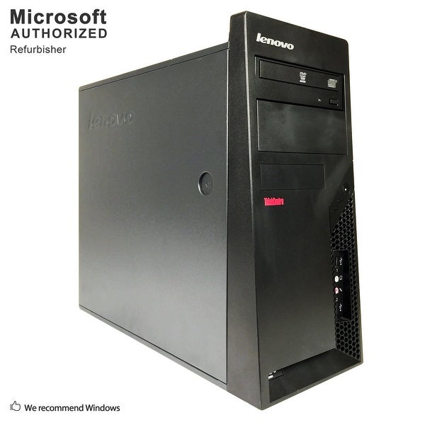 Lenovo M57 TW, Intel E7500 2.93GHz, 4GB, 500GB HDD, DVD, WIFI, BT 4.0, W10H64 (EN/ES)-Refurbished