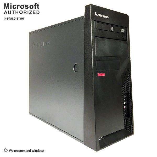 Certified Refurbished Lenovo M57 TW, Intel E7500 2.93GHz, 8GB, 2TB HDD, DVD, WIFI, BT 4.0, W10H64 (EN/ES)