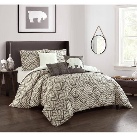 Grand Avenue Stonehill 6-Piece Comforter Set