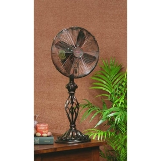 "30"" Elaborate Contemporary Style Oscillating Indoor Table Top Fan"