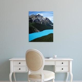 Easy Art Prints Charles Gurche's 'Peyto Lake' Premium Canvas Art