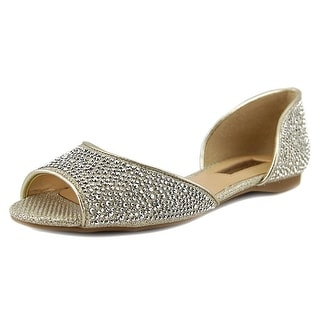 INC International Concepts Elsah2 Women Peep-Toe Synthetic Flats