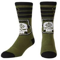 Suicide Squad Task Force X Unisex Crew Socks - Green