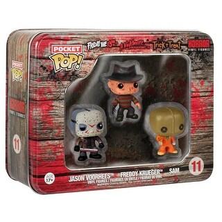 Funko Horror Pocket POP Freddy Krueger, Jason Voorhees, and Sam