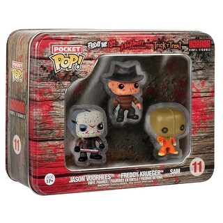 Funko Horror Pocket POP Freddy Krueger, Jason Voorhees, and Sam - multi