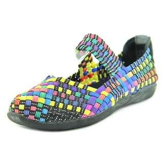 Bernie Mev. Kids Cuddly K Youth Round Toe Canvas Multi Color Mary Janes (Option: 12.5)
