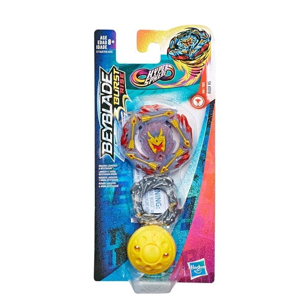 Ages 8 and Up Balance Type Right-Spin Hasbro Beyblade Burst Rise Hypersphere Rudr R5 Single Pack