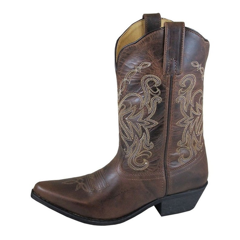 Smoky+Women/%27sTan+Western+Cowboy+Boot