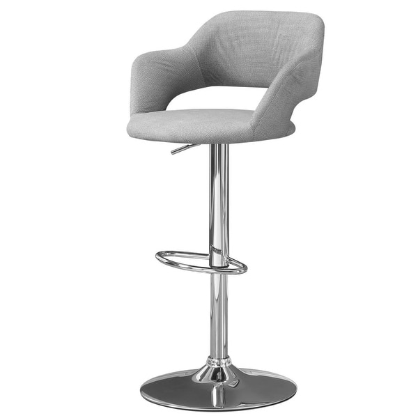 Shop Monarch Specialties I 2363 21 Inch Wide Polyester Bar Stool