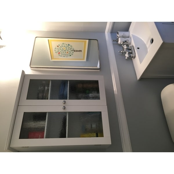 Cool Glass Door Wall Cabinet Interior