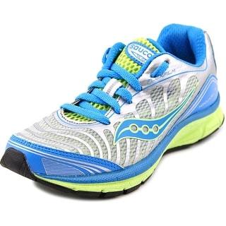Saucony Kinvara 3 Youth Round Toe Synthetic Blue Walking Shoe
