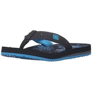 Reef Boys Ahi Light Up Thong Sandals - 9/10 medium (d)
