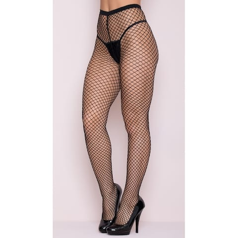 Fence Net Pantyhose, Hoty Fishnet Pantyhose - One Size Fits Most