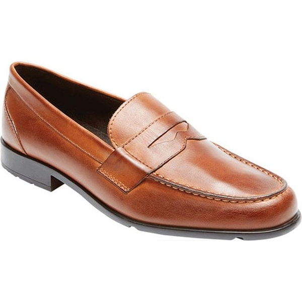 11bc8a0b9ad Shop Rockport Men s Classic Loafer Lite Penny Cognac Leather - Free ...