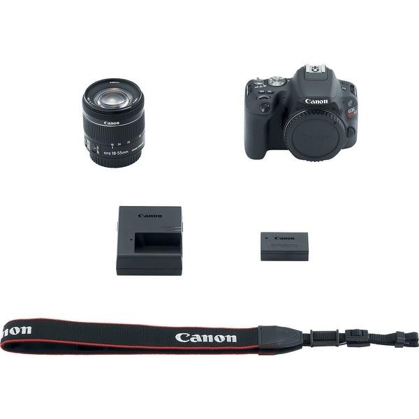 Canon EOS Rebel SL2 DSLR Camera with 18-55mm Lens (Black) (International Model)