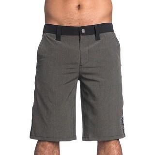 Affliction Mens Contrast Trim Pockets Board Shorts - 33