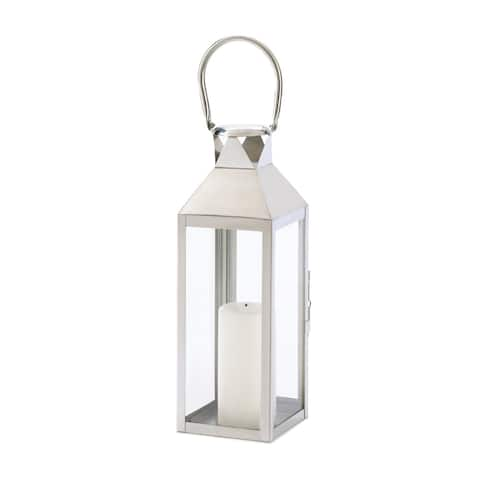 Stainless Steel Plaza Candle Lantern