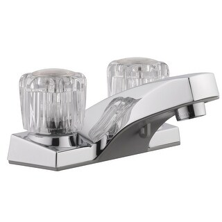 "Design House 545954 206211327 Millbridge Dual Handle Lavatory Faucet, 4"", Polished Chrome"